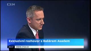Rozhovor  Michala Kubala s Baššárem Asadem- co mu předcházelo