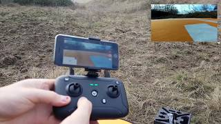 JJRC X7 review (un-boxing & test flight)