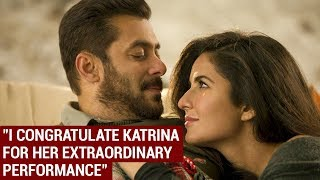 Salman Khan Congratulates Katrina Kaif For Tiger Zinda Hai Success