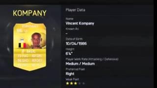 Fifa 15 ultimate team- Barclays Premier league best players