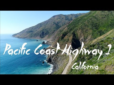Pacific Coast Highway 1 | 4K Drone Video