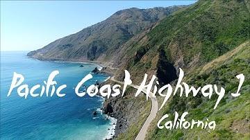 Pacific Coast Highway 1 | 4K Drone Video