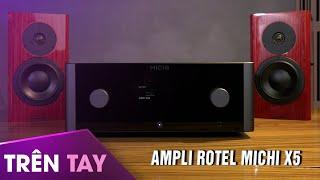 Ampli Rotel Michi X5