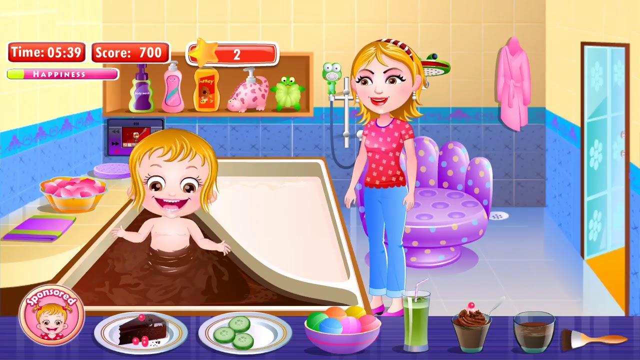 Baby Hazel Royal Bath | Fun Game Videos For Kids By Baby ...