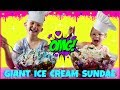 World's LARGEST Ice Cream Sundae Challenge - Magic Box Toys Collector