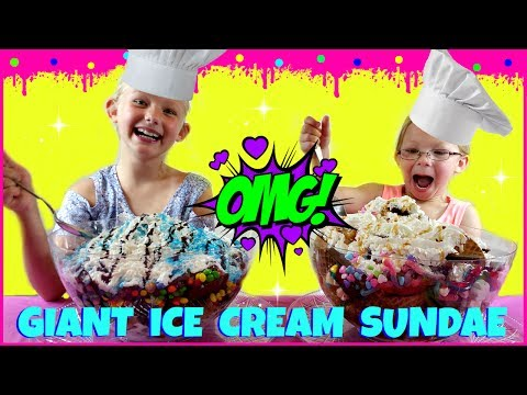 Thumbnail: World's LARGEST Ice Cream Sundae Challenge - Magic Box Toys Collector