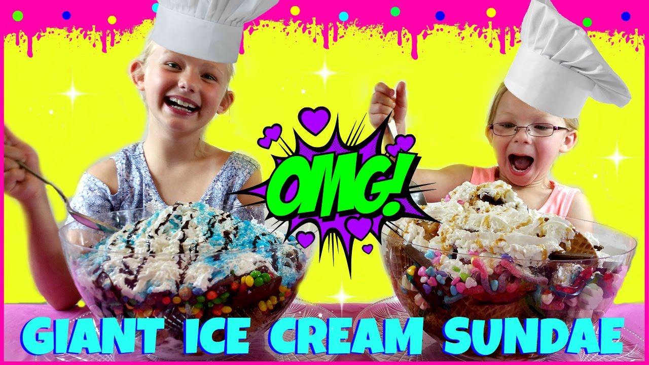 Download World's LARGEST Ice Cream Sundae Challenge - Magic Box Toys Collector