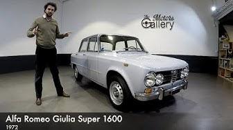 Alfa Giulia Super 1600 à vendre