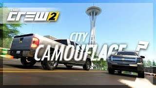 The Crew 2 CITY CAMOUFLAGE Seattle Edition