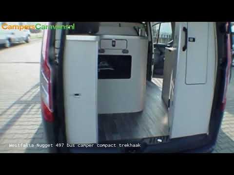 Westfalia Nugget 497 bus camper compact trekhaak