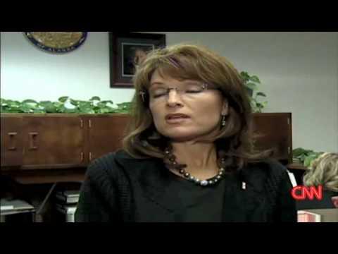 Sarah Palin Talks About Ted Stevens