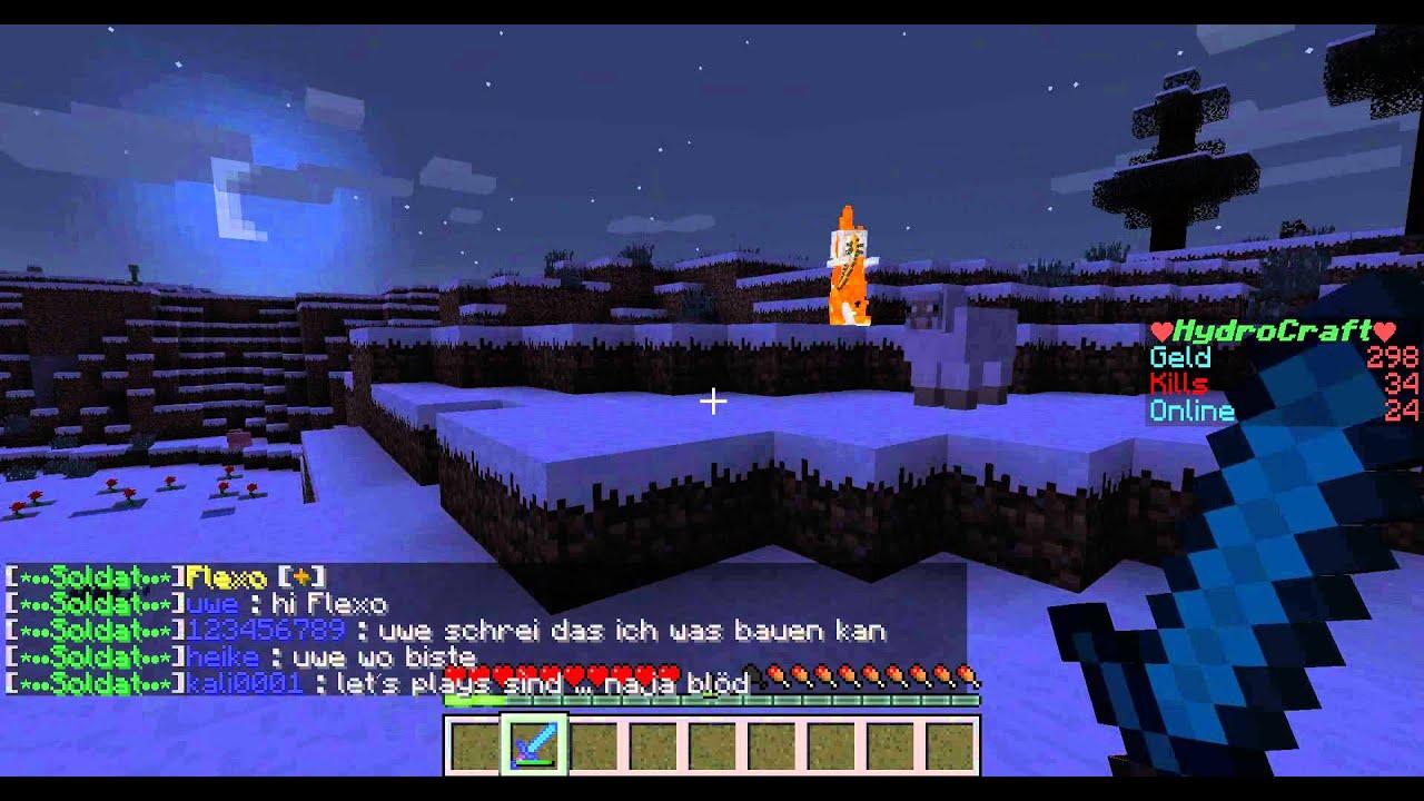 lets play minecraft server hydrocraft #2 - YouTube