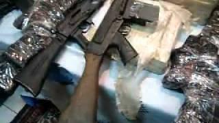 القبض على تاجر سلاح وبحوزته مدفع جيرينوف وبنادق اليه