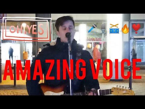 Street SINGER Caught  On Camera With Amazing Unbelievable Voice.jayse80 | Straßenmusik