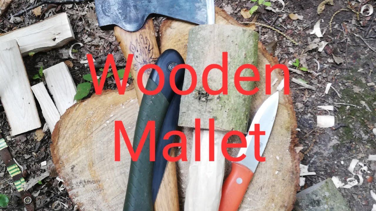 Campcraft - Campcraft Skills - Carving a wooden mallet -  Woodcraft - Bushcraft Skills