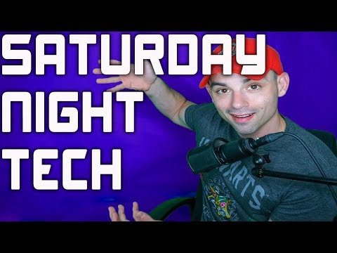 TEDD SATURDAY NIGHT TECH - EP. 5 FEAT. TheTechieGuy (Liron Segev)!  Blogs, Camerapalooza and more!