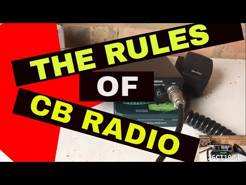 The Rules of CB Radio