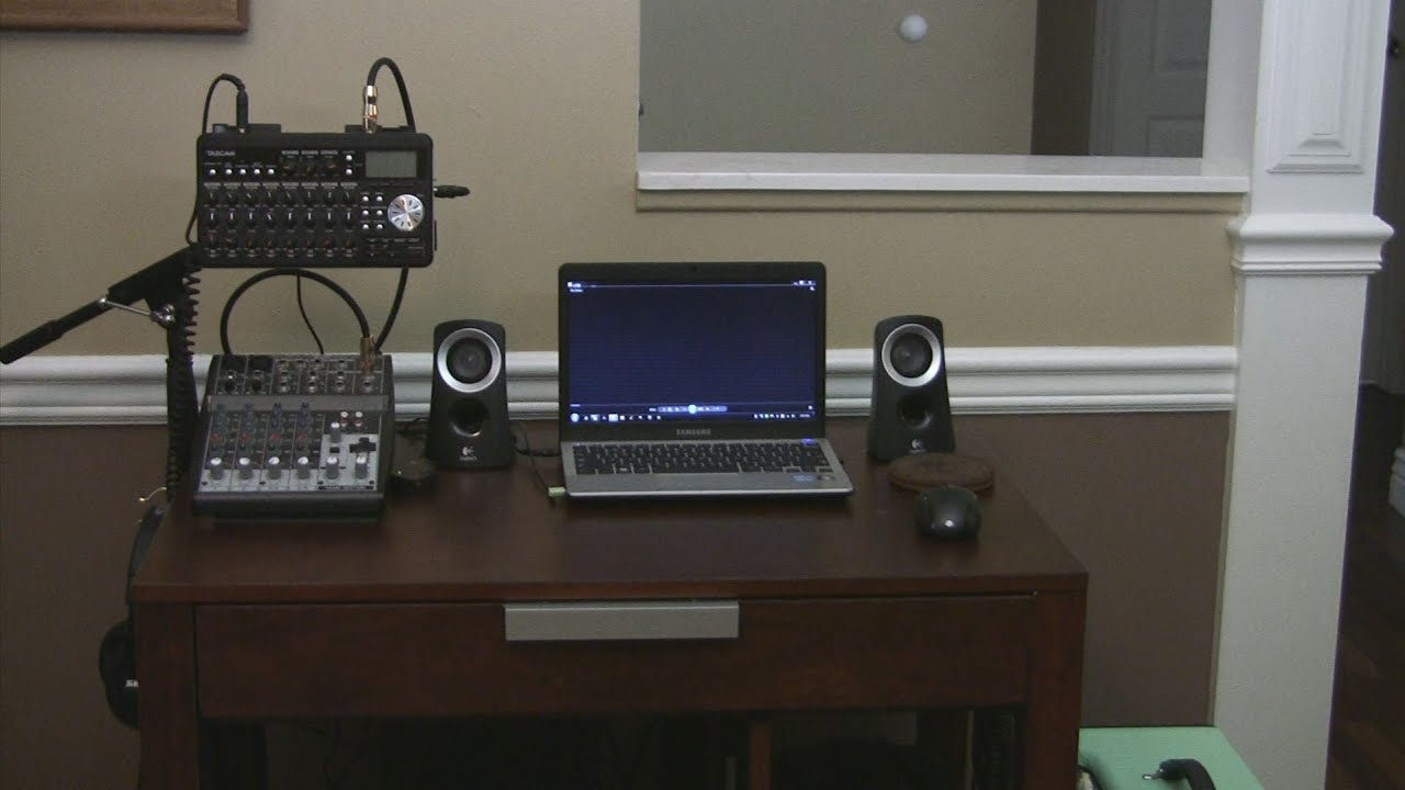 Portable Home Recording Studio