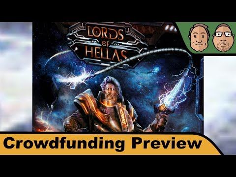 Lords of Hellas - Brettspiel - Crowdfunding Preview