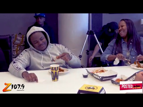 #POSTEDONTHECORNER - TEE GRIZZLEY VISITS CLEVELAND