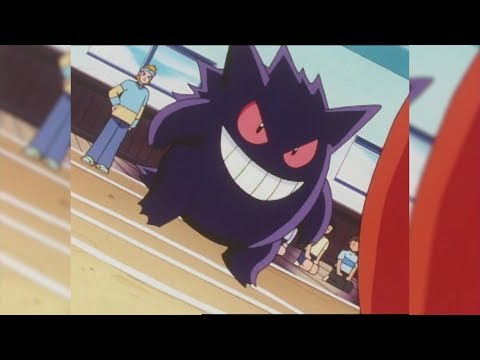 Gym Battle: Gengar Vs. Noctowl!