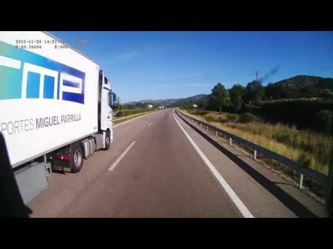 Spain. Motorway AP-7, 391-283 km. 2015-11, 1x