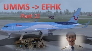 ✈️👨✈️ VATSIM: IFR Flight Example: Minsk to Helsinki! [Part 1 - Flight Preparation]