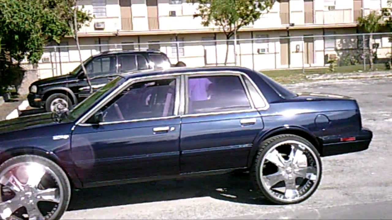 PiefacePresentWhips92 Oldsmobile Cutlass Ciera 4 Door On 24s