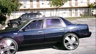 (PiefacePresentWhips)92 Oldsmobile Cutlass Ciera 4 Door On 24's