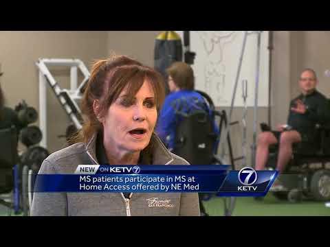 MS patients participate in Nebraska Medicine program