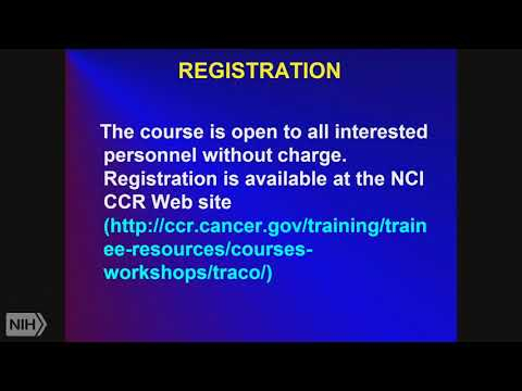 TRACO 2017 - Introduction and Tumor imaging