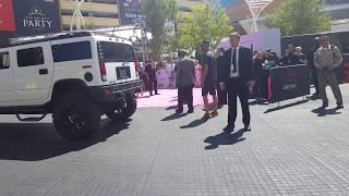 [FANCAM] BTS arriving at the Billboard Music Awards Magenta Carpet~ *TURN VOLUME DOWN*