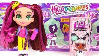 Poupées Hairdorables et Poupée LOL Surprise #Hairgoals Vrais Cheveux
