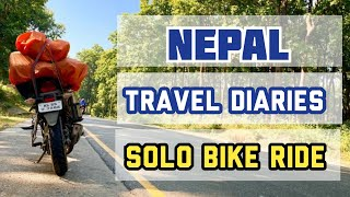 Nepal - Travel diaries/#bikeride/#indiatonepal/#nepal
