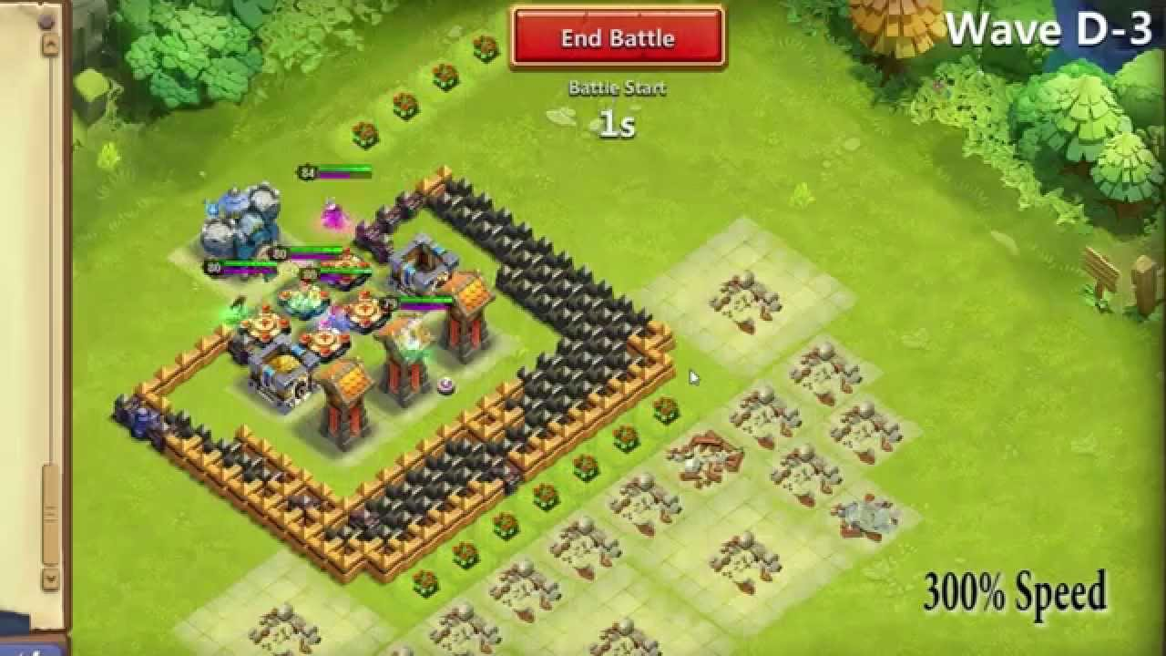HBM D Castle Clash - TH12 - YouTube