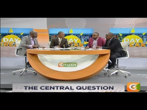 DAY BREAK | The Central  political questions