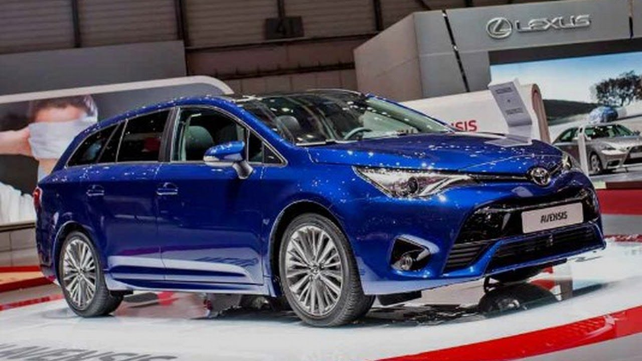 new look!! 2019 toyota avensis   test road - youtube