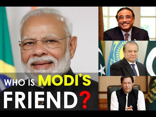 Who is Modi's friend? | 9 News HD