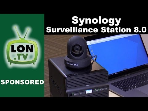 Synology NAS Surveillance Station 8.0 Part 1 : Overview - Your NAS as a security camera server!