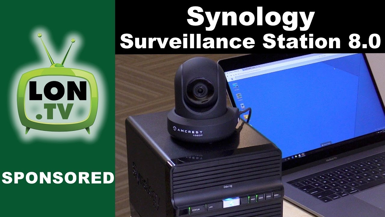 Synology NAS Surveillance Station 8 0 Part 1 : Overview - Your NAS as a  security camera server!