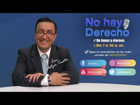 No Hay Derecho con Glatzer Tuesta - [19-07-2019]