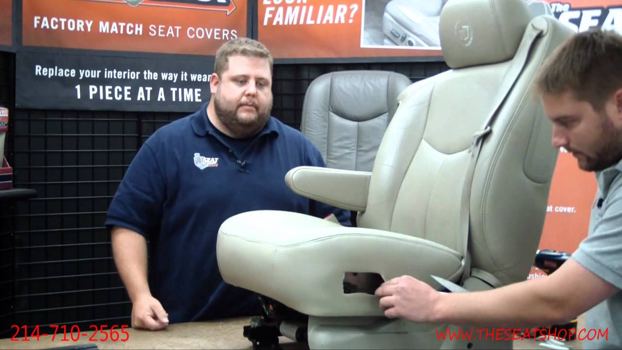 2003 2006 Chevy GMC Seat Cover Install 3 Of
