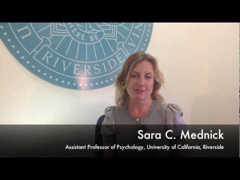 Sara Mednick: UCR Sleep Researcher Discusses her Latest Discovery