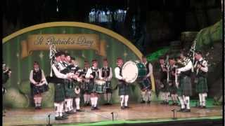 Saint Patrick 2013 - Pipe Band Aubigny Auld Alliance