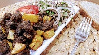 Arnavut Ciğeri Tarifi / Ne Pişirsem Kolay Yemekler / Akşam Yemeği Tarifleri