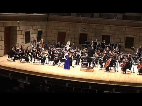 Saint-Saens Violin Concerto No. 3, 2nd movement: Ji-Yeon Lee