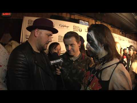 ATREYU Interview, Revolver Music Awards 2016 Black Carpet | MetalSucks