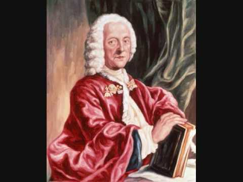 Georg Philipp Telemann-Concerto in F Major for 3 Violins and Strings- Largo