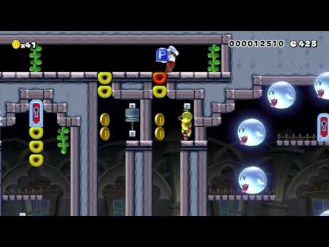 Easy's What a Funny WU Level !! ~ from GTRP Easy ~ SUPER MARIO MAKER Gameplay RAW