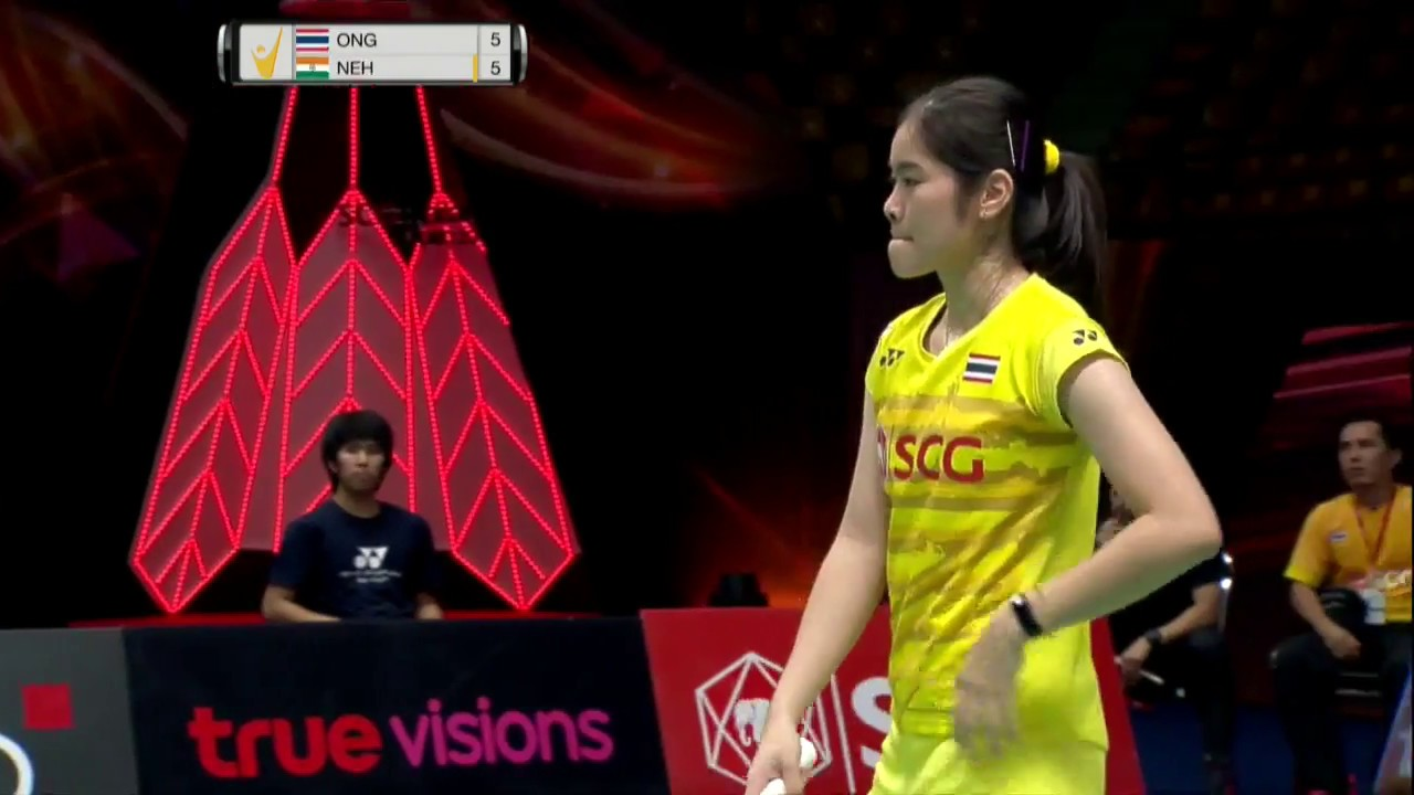 SCG Thailand Open 2017 Badminton SF M5 WS